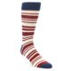 Image of Grey Red White Stripe Men's Dress Socks 2 Pack (side-1-front-03)