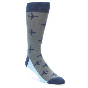 Novelty men's aviation airplane socks