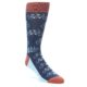 Novelty Tandem Cyclist Socks for Bikers