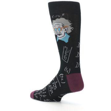 Image of Einstein Math Men's Dress Socks (side-2-back-14)