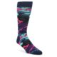 Image of Black Multi Color Camo Men's Dress Socks (side-1-front-01)