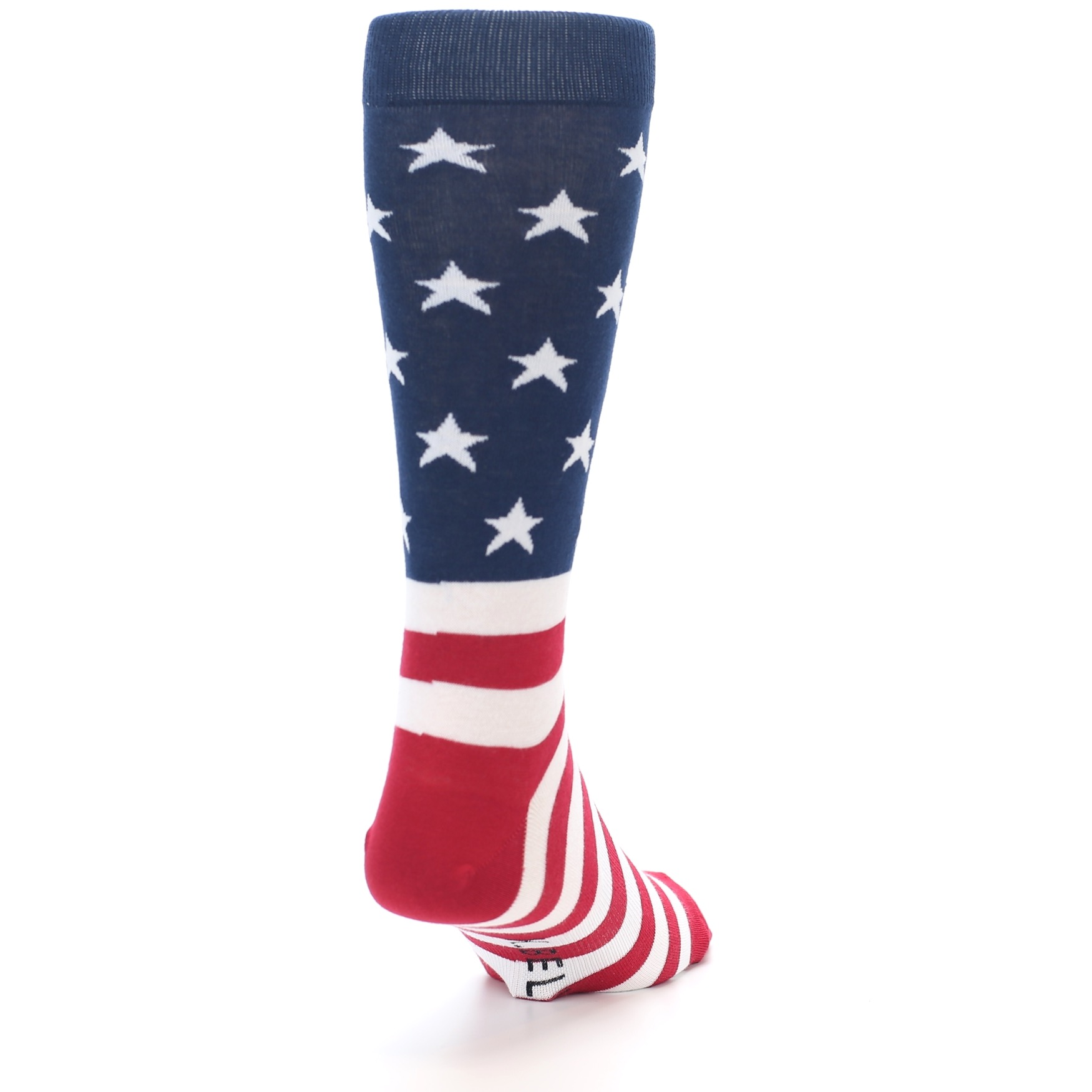e5ff463ac Image of Red White Blue American Flag Men s Dress Socks (side-1-back