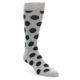 Grey Black Polka Dot Socks