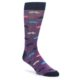 Purple Mustache Novelty Socks