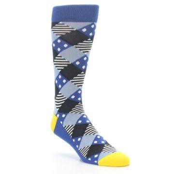 Blue Diamond Argyle Socks - Statement Sockwear