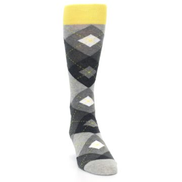 Image of Grays Argyle Men's Dress Socks (side-1-front-03)