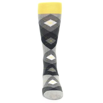 Image of Grays Argyle Men's Dress Socks (front-04)