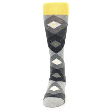 Image of Grays Argyle Men's Dress Socks (front-05)