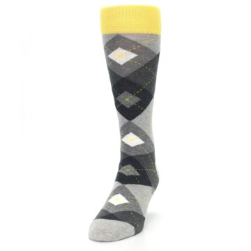 Image of Grays Argyle Men's Dress Socks (side-2-front-06)