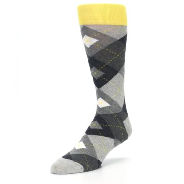 Image of Grays Argyle Men's Dress Socks (side-2-front-08)