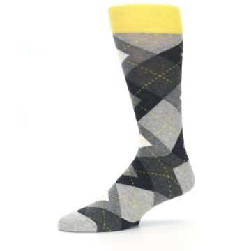 Image of Grays Argyle Men's Dress Socks (side-2-10)