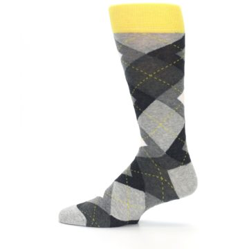 Image of Grays Argyle Men's Dress Socks (side-2-12)