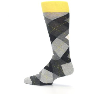 Image of Grays Argyle Men's Dress Socks (side-2-13)