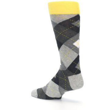 Image of Grays Argyle Men's Dress Socks (side-2-back-14)