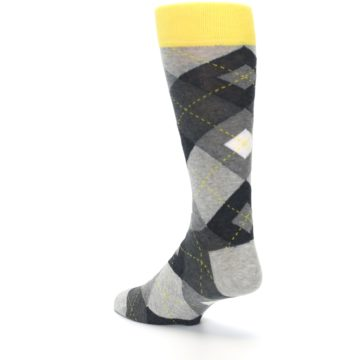 Image of Grays Argyle Men's Dress Socks (side-2-back-15)