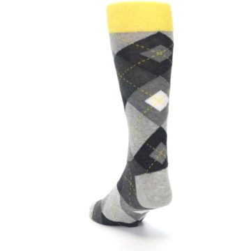 Image of Grays Argyle Men's Dress Socks (side-2-back-16)