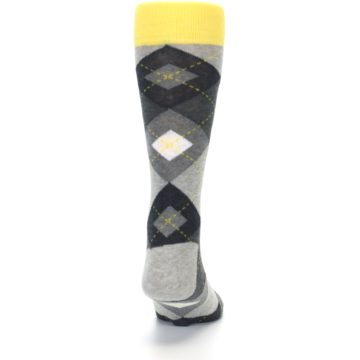 Image of Grays Argyle Men's Dress Socks (back-19)