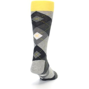 Image of Grays Argyle Men's Dress Socks (side-1-back-20)