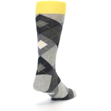 Image of Grays Argyle Men's Dress Socks (side-1-back-21)