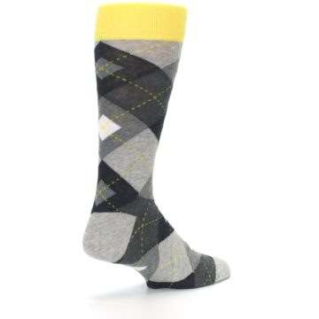 Image of Grays Argyle Men's Dress Socks (side-1-back-22)