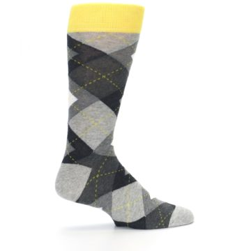 Image of Grays Argyle Men's Dress Socks (side-1-24)