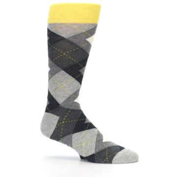 Image of Grays Argyle Men's Dress Socks (side-1-25)