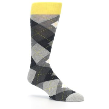 Image of Grays Argyle Men's Dress Socks (side-1-26)