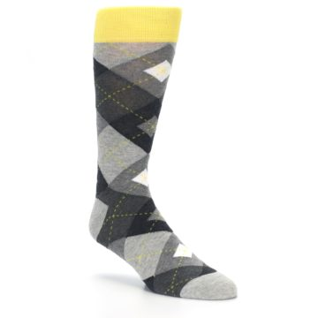 Image of Grays Argyle Men's Dress Socks (side-1-27)