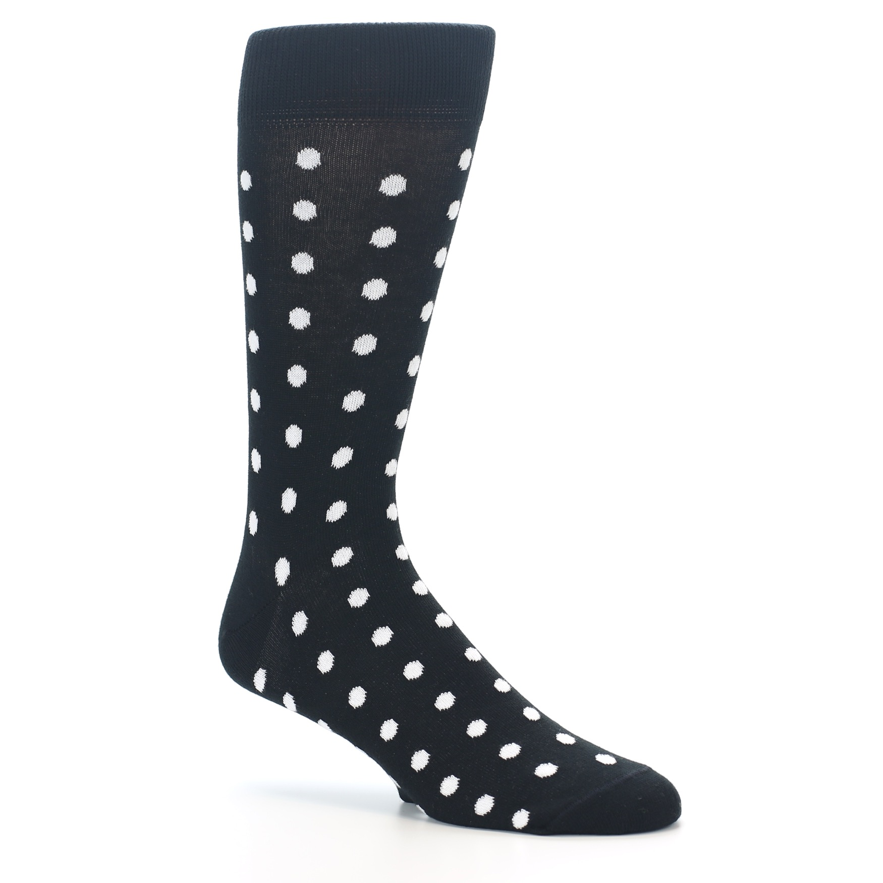 Men And Women Colored Polka Dots Patterned Compression Socks,1 Pair