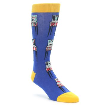Arcade Pinball Machine Socks for Men