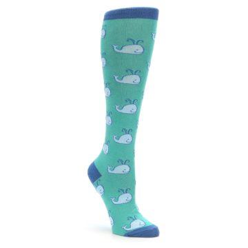 Sock it to Me Whales Knee Socks