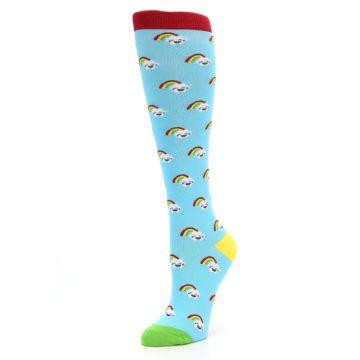 Image of Rainbows Women's Knee High Socks (side-2-09)
