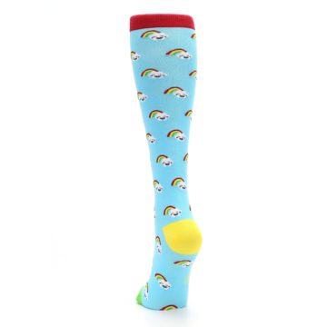 Image of Rainbows Women's Knee High Socks (back-17)