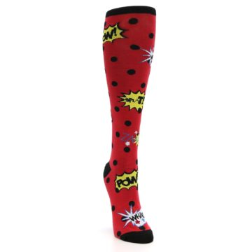 Image of Red Blamo! Women's Knee High Socks (side-1-front-03)