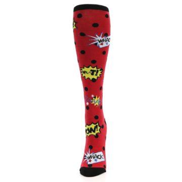 Image of Red Blamo! Women's Knee High Socks (side-2-front-06)
