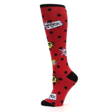 Image of Red Blamo! Women's Knee High Socks (side-2-12)