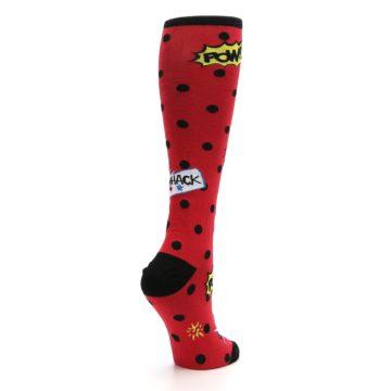 Image of Red Blamo! Women's Knee High Socks (side-1-back-22)