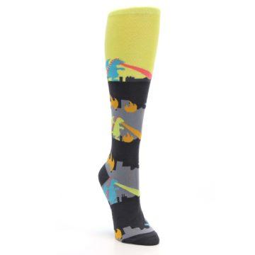 Image of Monster Rampage Women's Knee High Socks (side-1-front-02)