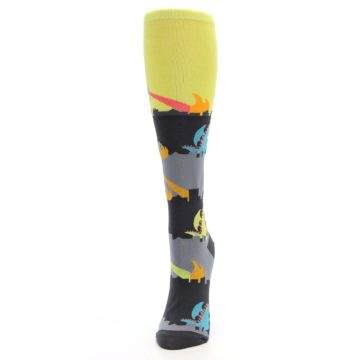 Image of Monster Rampage Women's Knee High Socks (side-2-front-06)