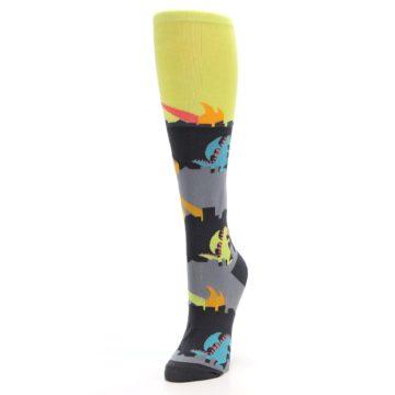 Image of Monster Rampage Women's Knee High Socks (side-2-front-07)