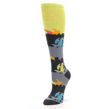 Image of Monster Rampage Women's Knee High Socks (side-2-front-08)