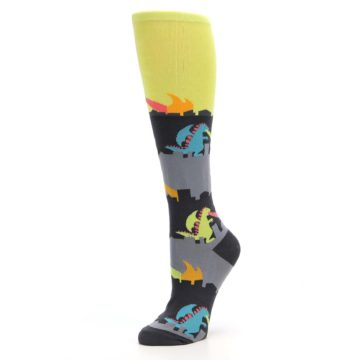 Image of Monster Rampage Women's Knee High Socks (side-2-09)