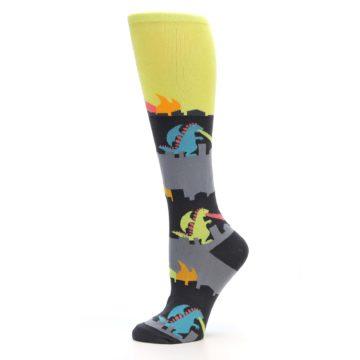 Image of Monster Rampage Women's Knee High Socks (side-2-11)