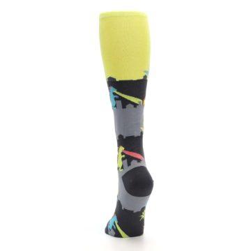 Image of Monster Rampage Women's Knee High Socks (back-17)