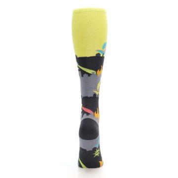 Image of Monster Rampage Women's Knee High Socks (back-19)