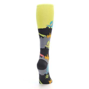 Image of Monster Rampage Women's Knee High Socks (side-1-back-20)