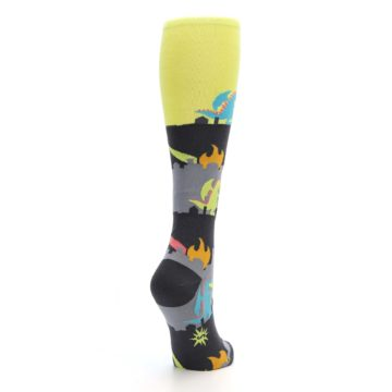 Image of Monster Rampage Women's Knee High Socks (side-1-back-21)