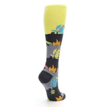 Image of Monster Rampage Women's Knee High Socks (side-1-back-22)