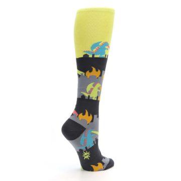 Image of Monster Rampage Women's Knee High Socks (side-1-23)