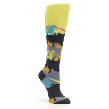 Image of Monster Rampage Women's Knee High Socks (side-1-27)